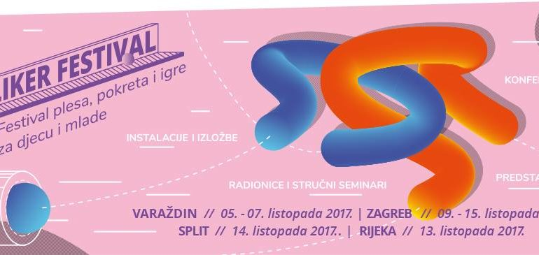 KLIKER festival 2017. u Zagrebu, Varaždinu, Rijeci i Splitu