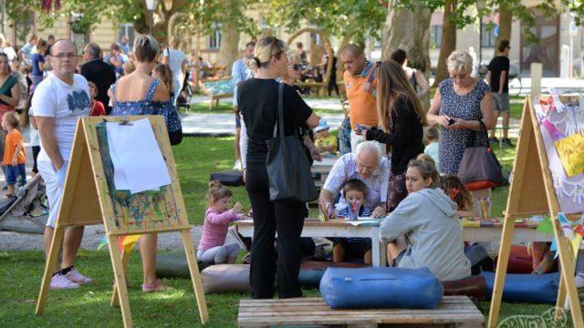 Park kreative na Špancirfestu