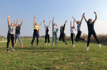 """Exercise book for movement and dance"" seminar held in Bjelovar"