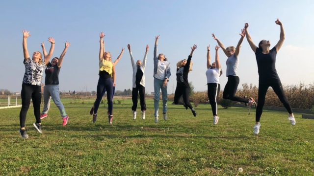 """""""Exercise book for movement and dance"""" seminar held in Bjelovar"""